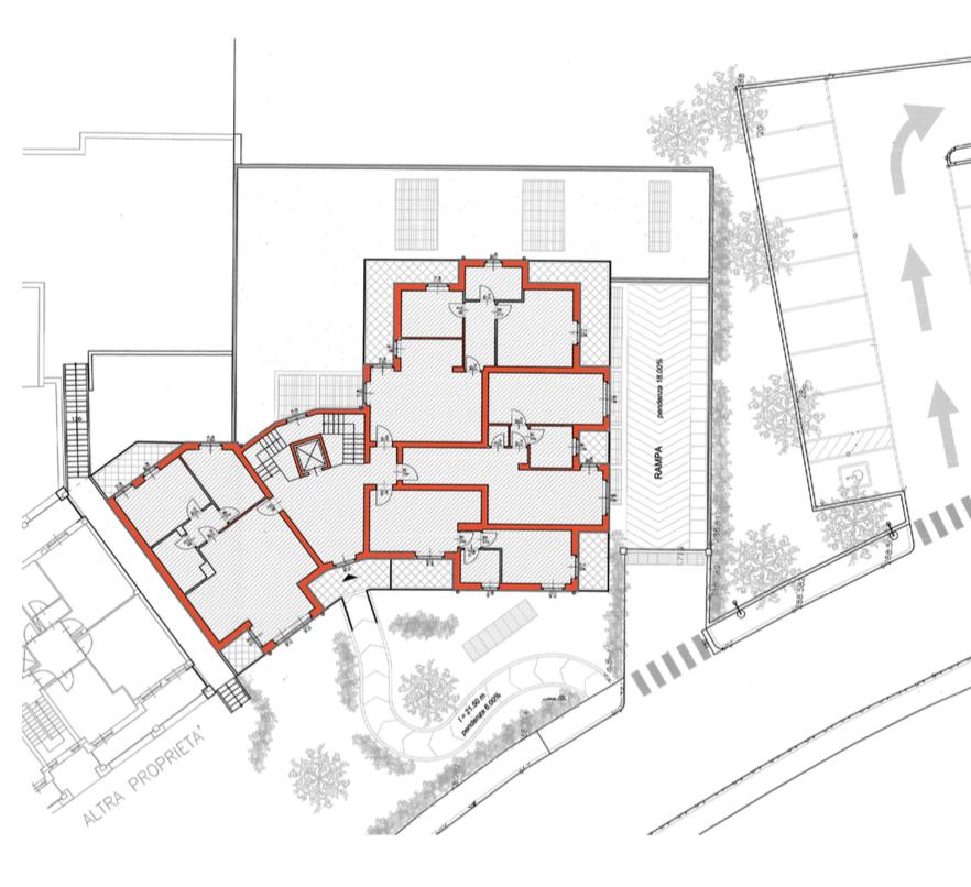 planimetria residenza