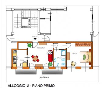 Appartamento trilocale a Caluso